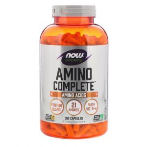 Амино комплекс, Amino Complete, Now Foods, Sports, 360 капсул (Default)