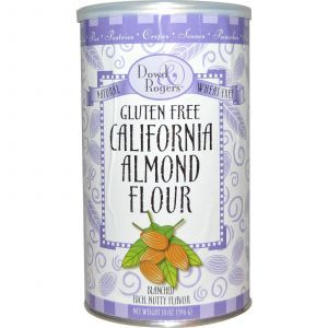 Миндальная мука, Gluten Free California Almond Flour, Fun Fresh Foods, 396 г