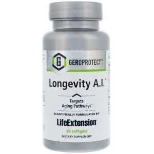 Формула долголетия, Geroprotect, Longevity A.I., Life Extension, 30 капсул