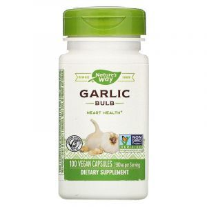 Чеснок, Garlic, Nature's Way, луковицы, 580 мг, 100 капсул